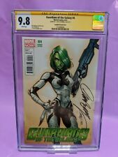 Guardians of the Galaxy #4 CGC 9.8 SS Signed by J. Scott Campbell VARIANT COVER