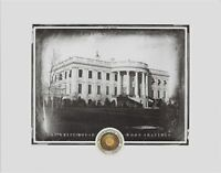 The WHITE HOUSE actual WOOD SHAVINGS, Washington D.C Presidential home relic