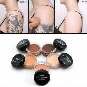 Skin Scar Tattoo Cover Up Birthmark Concealer Waterproof Spot Hide Makeup Cream
