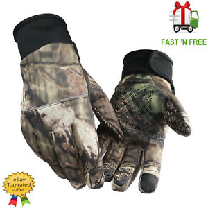 hunting shooting camo gloves fishing paintball gloves anti slip touch screen uk