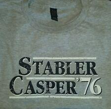 Ken Stabler Dave Casper 1976 Election Style Oakland Tee