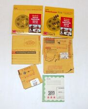 Lot - Kodak Prepaid Processing Mailer 8mm  film & 3M Dynacolor - Collection Only