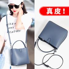 Ladies Women's cowhide leather shoulder bag Messenger bag handbag/L6211