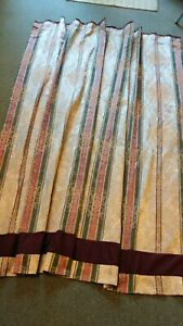 """Croscill Dover Manor Shower curtain Excellent condition 79"""" by 69"""" W"""