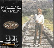 ♪♪ MAXI CD DIGIPACK 6 TÍTULOS MYLÈNE FARMER CALIFORNIA RMIX 1996 EN CELOFÁN ♪
