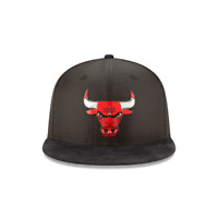 NEW ERA CHICAGO BULLS ON COURT 59FIFTY FITTED Hat Cap Black 7 1/2 11472307 5950