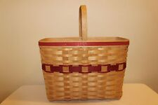 Longaberger Rare Magazine Basket Set - SIGNED - New!