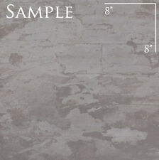 "SAMPLE of 24"" x 24"" REFIN Ceramiche INDUSTRY RAW GREY R Floor Italian Tile"