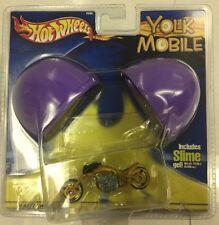 2002 Hot Wheels Yolk Mobile W/ Motorcycle. Includes Slime Gel. New.