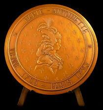 Médaille 11/100 Richard Mique architecte temple d l'amour Marie Antoinette medal