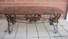 Vintage metal & glass Coffee Table & planter - Pick up Melb