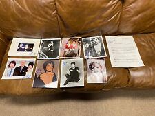Liza Minnelli Autograph Photo Collection set lot Bargain Priced actress singer