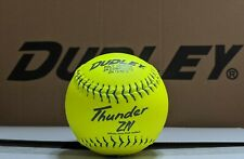 "1 Dozen Composite Leather Dudley Usssa 12"" Softballs - 47/450 (ZN12RFY) 12 Balls"