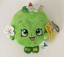 "7"" Shopkins Green Apple Blossom Soft Plush Stuffed Fruit Doll Toy by Moose w/Tag"