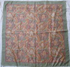 7181c4bdb7e Joli foulard Ralph Lauren soie vintage scarf - 90 cm x 90 cm