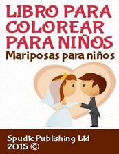 Libro para Colorear para Niños : Mariposas para Colorear para Niños by Spudtc...