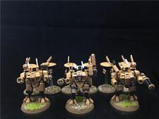 25mm Warhammer 40K DPS painted Tau Empire XV8 Crisis Battlesuit Team AP5712