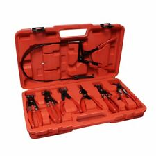 ABN Flexible Hose Cable Clamp Pliers Tool Set 7 Piece Kit 19