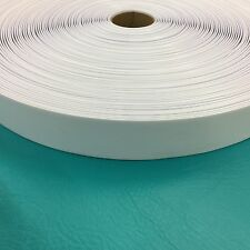 """2"""" Vinyl Chair Strapping Outdoor Patio Lawn Furniture Repair 40' White New # 201"""