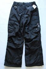 ZeroXposur  Black Winter Ski Snow Pants Kids Youth Boys Small 8 NWT