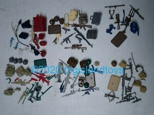 GI Joe A Real American Hero Battle Gear Action Figure Parts [PICK/MULTI-LISTING]