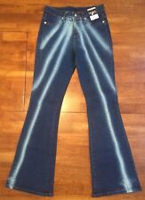 NWT Watch LA Junior Womens Distressed Boot Cut Stretch Pants Jeans Size 11/12