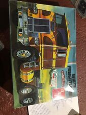White Freightliner Dual Drive Truck Tractor 1/25 AMT-620 Model Kit 280+ Parts