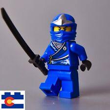 Lego Jay ZX Rebooted Blue Ninja Ninjago Hood Sword Armor