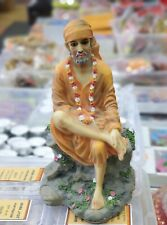 Shirdi Sai Baba Ji Statue 8.5 Inches height  Polyresin USA Seller fast shipping