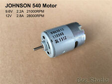 DC12V 28000RPM High Speed Power Large Torque JOHNSON 540 Motor for Electric tool