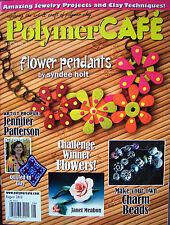 PolymerCAFE Polymer Cafe Clay Magazine New - August 2012