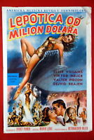 MILLION DOLLAR MERMAID ESTHER WILLIAMS 1952 VICTOR MATURE RARE EXYU MOVIE POSTER