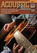 Acoustic Classics Guitar Play-Along DVD NEW 000320522