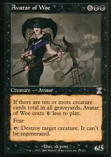 Avatar of Woe - signed V2 | NM- | Time Spiral | Magic MTG
