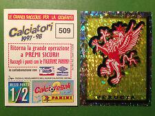 CALCIATORI 1997-98 97-1998 n 509 PERUGIA SCUDETTO , Figurina Panini - New