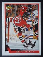 NH L 314 Jeremy Roenick Chicago Blackhawks Upper Deck 1993/94