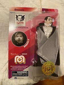 """MEGO 2018 Dracula Bela Lugosi 8"""" TV Favorites Figure Limited Edition 732/10000"""