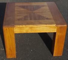 Nice Solid Wood Lamp Table  VGC - FABULOUS PATTERN GREAT CONDITION QUALITY TABLE