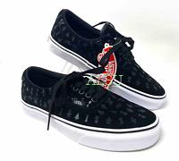 VANS Women's Sneakers Era Area 66 Suede Black Size VN0A4BV4TGK