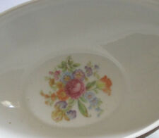 VTG Aichi China-Made In OCCUPIED Japan-FLORAL W/BLUE SCROLLS BOWLS LOT OF 6