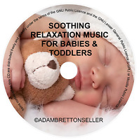 Soothing Relaxation Music CD for Babies & Toddlers Peaceful Sleep Aid Calming