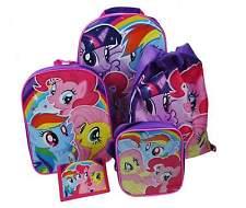 Girls - My Little Pony MLP 5 pc Luggage Set Travel Set Backpack