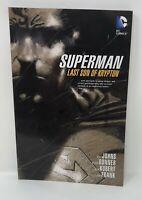 SUPERMAN LAST SON OF KRYPTON Geoff Jones Donner Kubert TPB Graphic Novel
