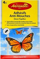 Butterfly Fly Trap Window Sticker Flying Insect Bug Killer Kills Fly On Contact