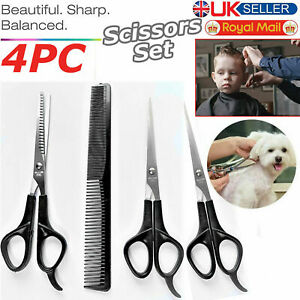 Professional Hair Cutting Scissors Salon Hairdressing Thinning Barber Shears Set
