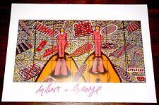 Gilbert & y George ~ ~ atacó Firmado Art Print ~ distribuidor registrado UACC