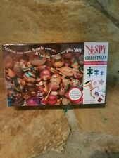 NEW I Spy Christmas Family Style 500-Piece Jigsaw Puzzle for Kids Ages 3+ Sealed