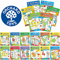 Early learning Sticker and Colouring Books by Orchard Toys - Number, Letters etc