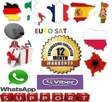 12 Month Gift EURO SAT for Openbox Skybox Zgemma Amiko Technomate Vu Super Fast
