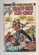 Giant-Size Kid Colt #2 More RARE SCARCE Giant-Size X-Men #1! 1975 68 Pgs Fn 6.0